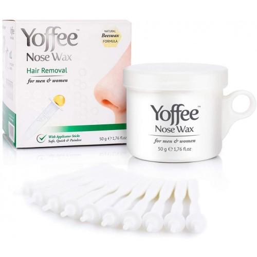 Yoffee Nose Wax 50g - Nasal Hair Removal with Natural Beeswax Formula