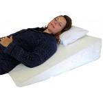 Orthologics Large Bed Wedge Raised Pillow Acid Reflux GERD Memory Foam Back OL9