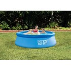 INTEX 28112UK 8 ft x 30-Inch Easy Set Pool Set - Blue 244 cm x 76 cm