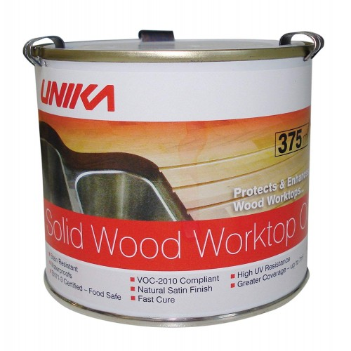 Unika Solid Wood Worktop Oil 375ml