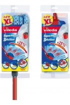 Vileda SuperMocio 3Action XL Mop with Extra Refill