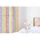 "String Door Curtain Fly Insect Bug Screen String For Doorways Divider or Window Curtain Panel 39""x78.5""(Rainbow)"