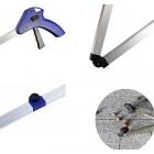 Handy Reacher Grabber Folding Aluminum Litter Picker Long Arm Reaching Aid Tool 33 Inch 84 cm