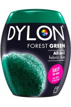 DYLON Washing Machine Fabric Dye Pod for Clothes & Soft Furnishings, 350g – Forest Green