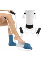 Vive Sock Aid - Easy On and Off Stocking Slider - Pulling Assist Device - Compression Sock Helper Aide Tool - Puller, Donner for Elderly, Senior, Pregnant, Diabetics - Pull Up Assistance Help
