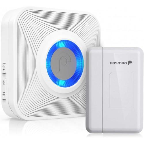 Wireless Door Open Sensor Alarm Chime Home Window Security Entry Shop Garage