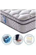 Vesgantti Box Top Series 10.3 Inch 4FT6 Single Multilayer Hybrid Mattress/Ergonomic Design