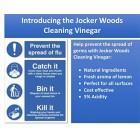 Pack of 2 2x5 Litre Jocker Woods Cleaning Vinegar with The Fresh Smell of Lemon