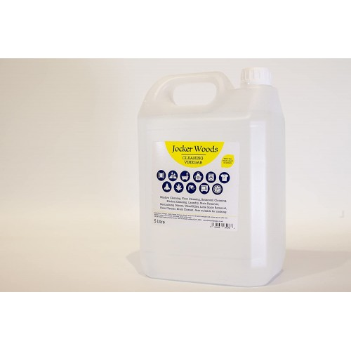White Vinegar for Cleaning with The Fresh Smell of Lemon - Single 5l PET