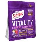 Slimfast Vitality Vegan Strawberry and Blueberry Powder 450g