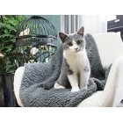 Premium Fluffy Fleece Dog Blanket, Soft and Warm Pet Throw Dogs Cats Small