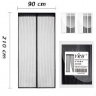 Magnetic Fly Screen Door, YRH Heavy Duty Bug Mesh Curtain with Powerful Magnets