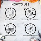 Air Wick Essential Mist Diffuser Kit, Peony & Jasmine Scent, Device & 1 Refill