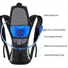 Professional Hydration Backpack, Water Bag Backpack with 2L Hydration Pack Water Bladder Perfect for Hiking Backpack Cycling Rucksack Climbing Camping Running Bags