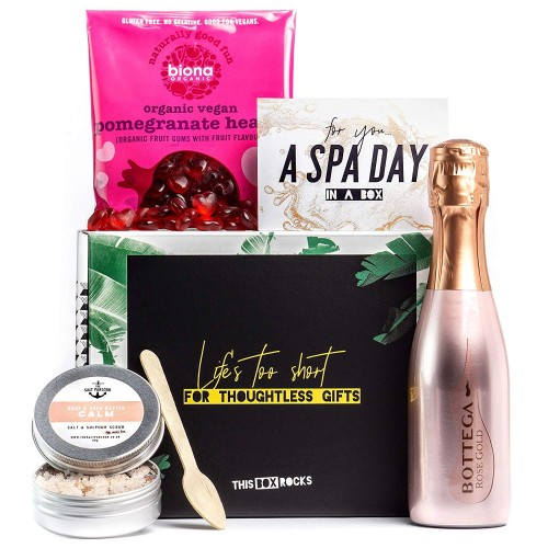 Prosecco in the Bath Gift Set for Her Vegan 18+