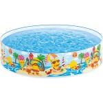Intex 4 ft Duckling Snapset Pool Multi-Colour Childrens Paddling Pool