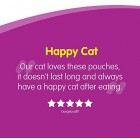 Whiskas 1+ Wet Cat Food Pouches with Chicken, Poultry, Turkey and Duck, Selection in Gravy, 100 g (Pack of 84)