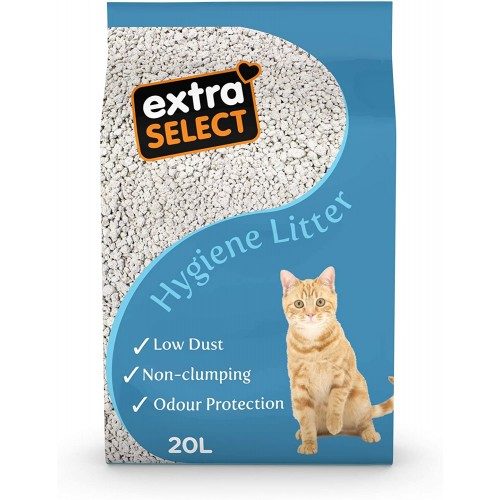 Extra Select Premium Hygiene Cat Litter 20ltr