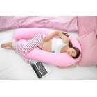 9ft U Shaped Comfort Pregnancy Support Pillow with free Case Choice of Colours