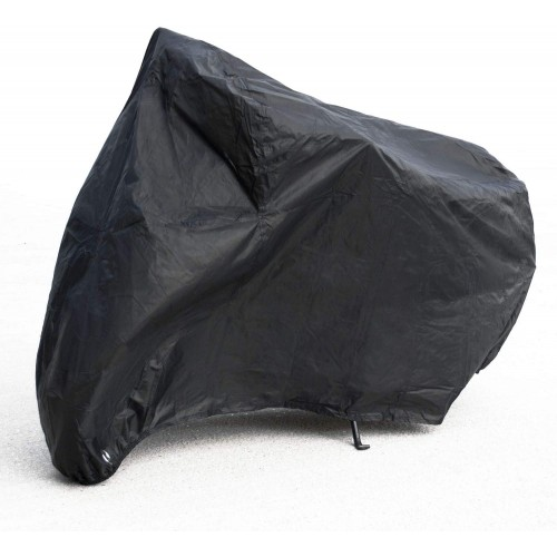 Motorcycle Cover 190T Waterproof Motorbike Moped Scooter Protection from Sun Rain Snow 3 Sizes