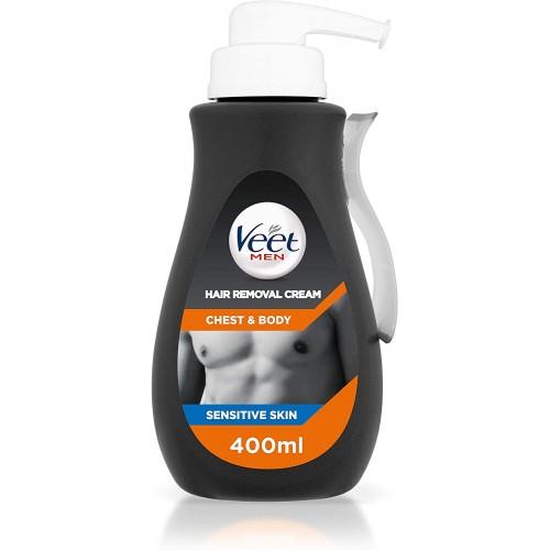 Veet Men Hair Removal Cream Chest & Body 400ml