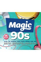Magic 90's 4 x CD Box Set Songs You Will Love From the 90s