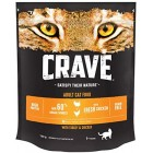 Crave Dry Cat Food - High Protein & Grain-Free Cat Food with Turkey & Chicken, 750 g (Pack of 3)