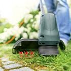 Electric Grass Trimmer Garden Lawn Heavy Duty Weed Strimmer Cutter Diameter 23cm
