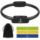 Zacro 5-in-1 Pilates Ring Resistance Loop Exercise Bands, 3pcs Resistance Exercise Bands,Weight Loss Body Toning Magic Circle Toning Thighs, Abs and Legs
