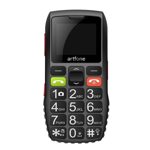 Artfone C1 Big Button Mobile Phone for Elderly, Unlocked Senior Mobile Phone With SOS Emergency Button,1400mAh Battery