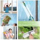 Spray Mop,Aiglam Floor Mop,Microfiber Mop with 2 Free Reusable Microfiber Pads Multi Mop with Refillable Bottle for Hardwood Floor, Wood, Laminate, Tile (Green)