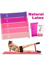 Rantizon Resistance Bands Resistance Bands for Legs and Butt Exercise Bands, Home Fitness, Crossfit, Stretching, Strength Training, Physical Therapy, Natural Latex Workout Bands.