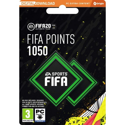 FIFA 20 Ultimate Team - 1050 FIFA Points - PC Code - Origin