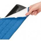 Addis Spray Mop 2 in 1 with Microfibre Flat Pad Head, Metallic & Blue, Metallic, 142 x 15 x 15
