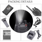 Baofeng 10 Pack Rechargeable Walkie Talkies Long Range 5W 16CH Handheld Two-Way Radio Set