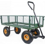 GARDEN TROLLEY All Terrain Cart Large