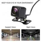 Car Reversing Camera latest super night vision function, 140 fisheye lens, high definition HVD chip, IP67/68 waterproof seismic dust prevention, 12V rear view backup camera