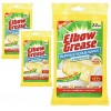 Elbow Grease Antibacterial Surface Scrub Wipes Pk24