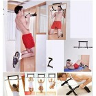 PerGrate Iron Gym Pull Up Sit Up Door Bar Portable Chin-Up for Upper Body Workout Doorway