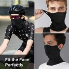 Face Bandanas with Filter for Men/Women/Kids Safety Full Protection Reusable Balaclava Headband Scarf Stretchy Breathable Face Covering Washable Cooling Ice Silk for Outdoor Cycling Motorcycle