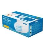 3-Ply 3 Layer Polypropylene Face Mask Pack of 50