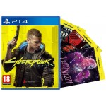 Cyberpunk 2077 + 3 Night City Postcards (PS4)