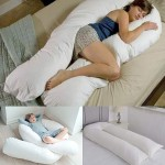 9 FT Long C_U Shaped Full Body Cuddly & Maternity Pregnancy, Back, Leg, Hip, Arthritis Support Pillow