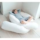 9 FT Long C_U Shaped Full Body Cuddly & Maternity Pregnancy, Back, Leg, Hip, Arthritis Support Pillow