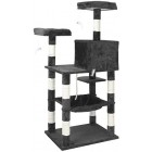 proudpet Cat Tree Lookout Style 1.45m Scratch Post Pet Play Tower Blue or Grey