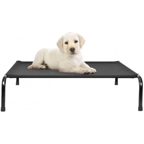 Proudpet Raised Dog Bed for Large Dogs Puppy Cooling Elevated Furniture