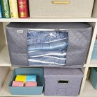 3x Storage Bags Set of 3 Quilted Bedding Clothes Space Saver Organisers 2 Sizes
