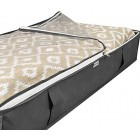 2x Underbed Storage Bags Set of 2 Large Under Bed Duvet Bedding and Clothing Packs