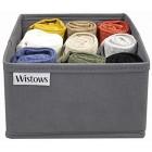 Underwear Drawer Storage Organisers Multipack Bra Pants Clothing Boxes Pack of 6 or 12