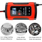 Car Battery Charger, Battery Charger & Maintainer, 6A 12V Fully Automatic Battery Charger with LCD Screen, Used to Charge, Maintain And Repair Batteries for Various Vehicle